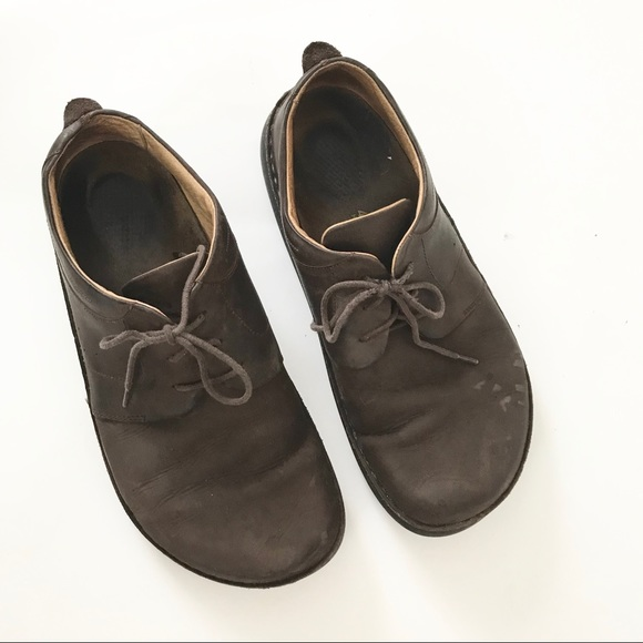 83fb1602c Birkenstock Shoes | S Mens Lace Up Brown Leather | Poshmark